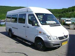 Микроавтобус MERCEDES-BENZ SPRINTER - 15 мест