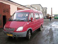 Микроавтобус ГАЗель 32213 - 13 мест